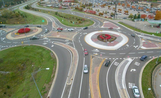 Lee Road Roundabout